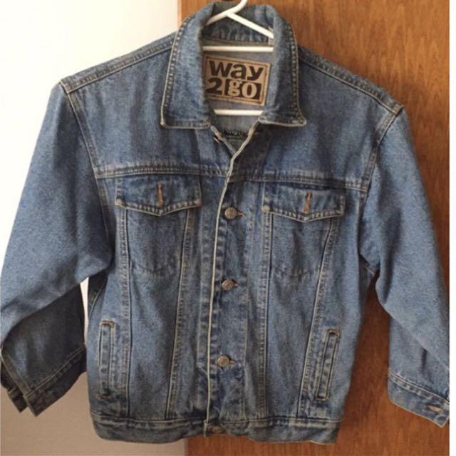 FREE POSTAGE- Vintage Jean Jacket