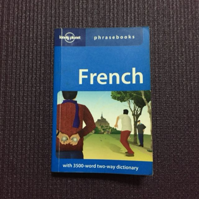 French - Lonely Planet Phrasebook