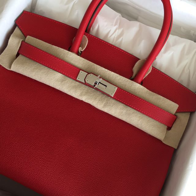5a0d1eb74f Gd price new birkin 30 in rouge casaque