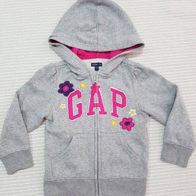 Girl toddler hooded jacket GAP 2-5yo