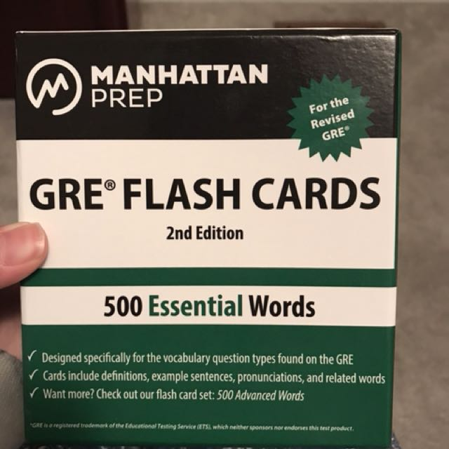 GRE vocab flashcards