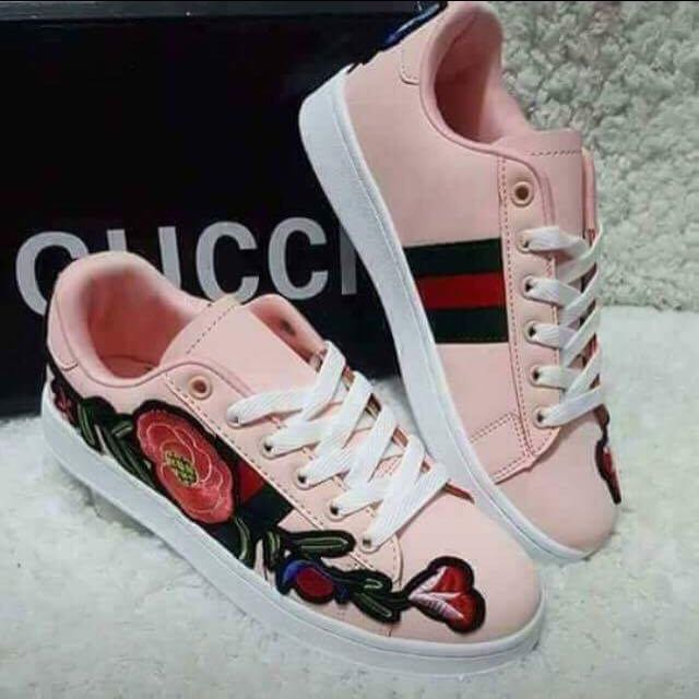 Gucci Pastel Pink Shoes