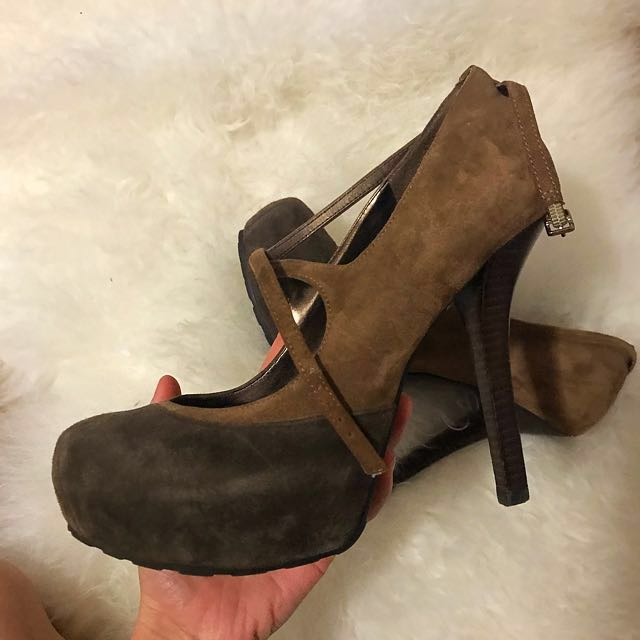 Guess Heels Mary Jane Style Size 10