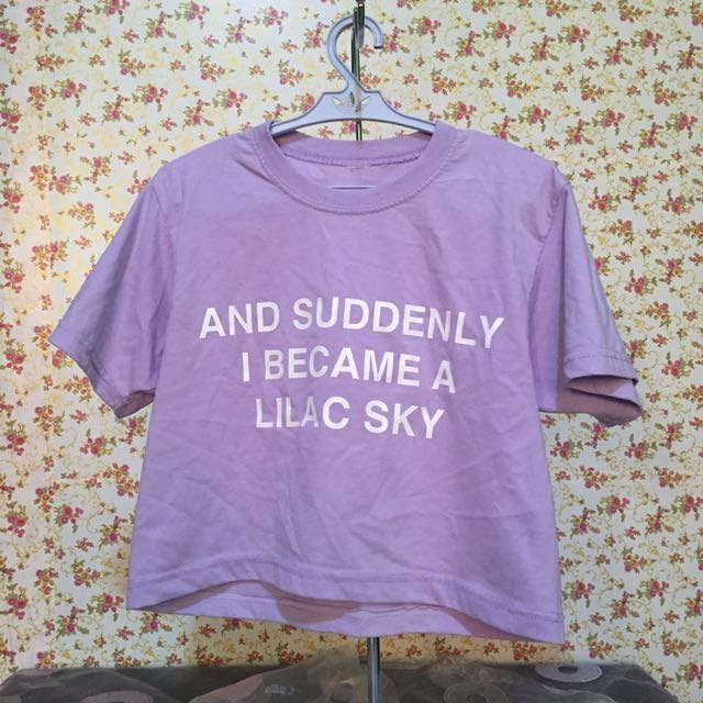 Halsey Lyrics Cropped Top