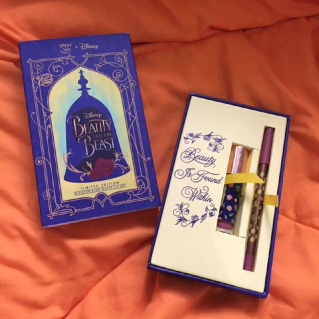 Happy skin Beauty and the beast limited edition lip kit