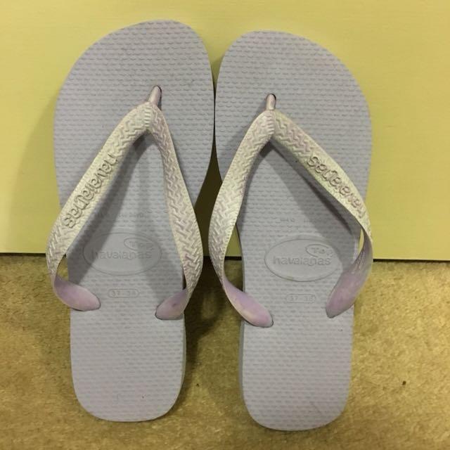 Havaiana lilac thongs