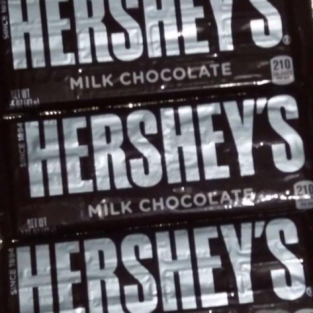 HERSHEYS MILK CHOCOLATE