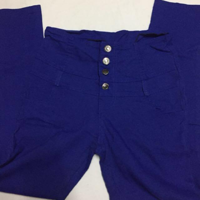 high waist pants large
