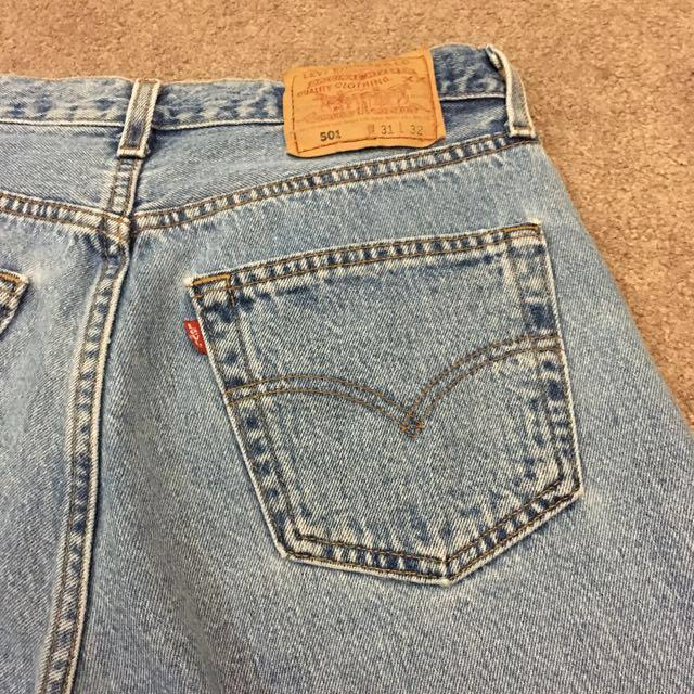 High waist vintage Levi mom jeans