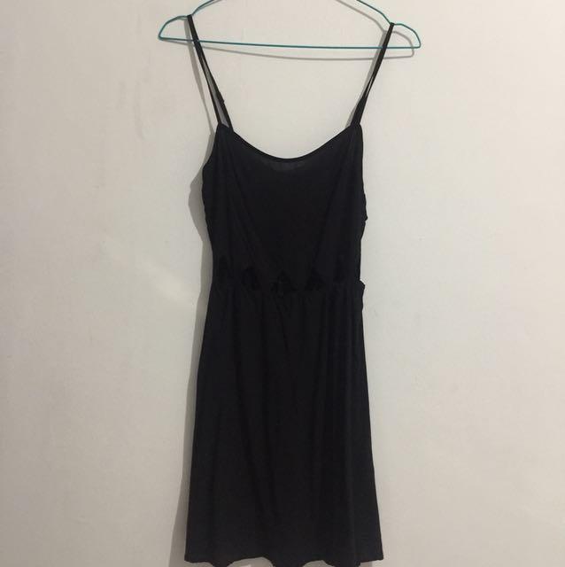 H&M Black Dress Size 34