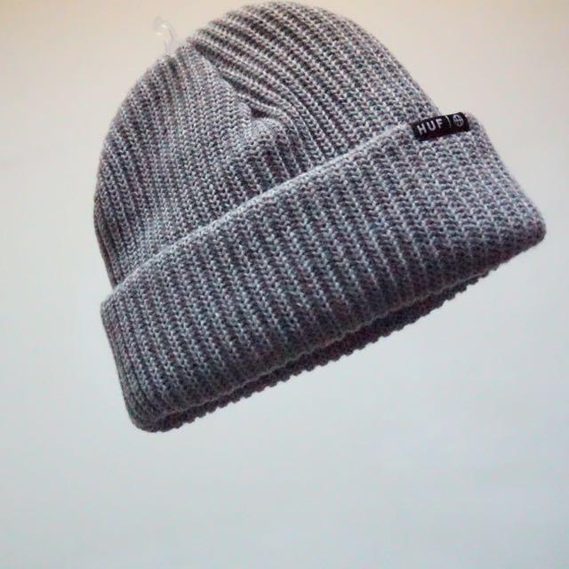 Huf 灰色毛帽 全新