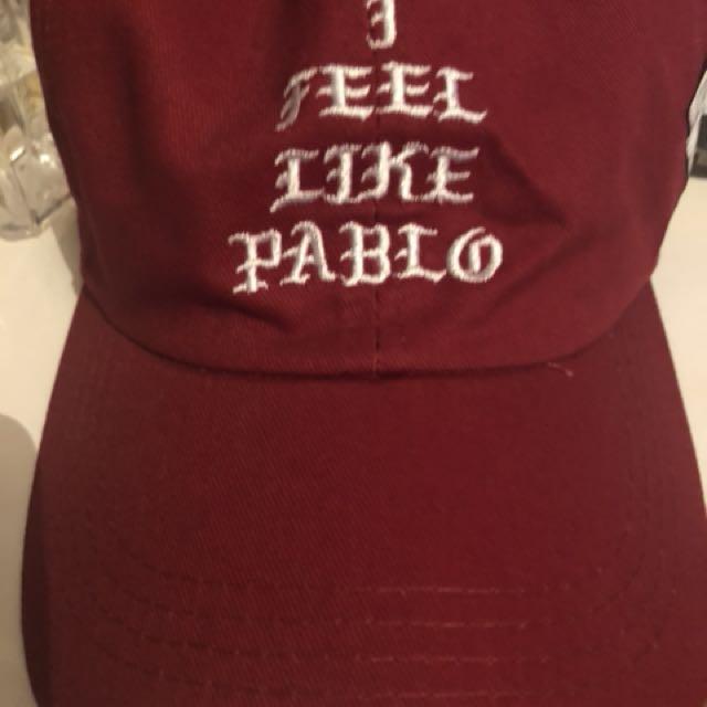 I feel like Pablo hat