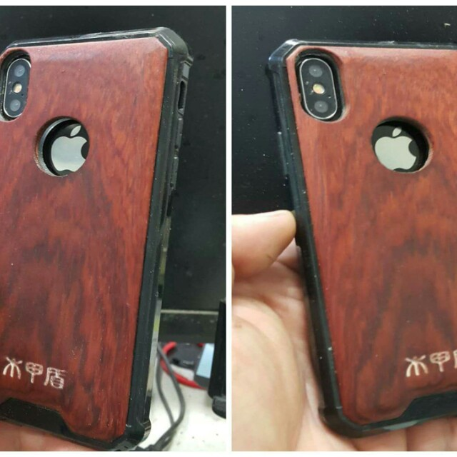 I PHONE X CASES  TAIWAN WOOD AROMA