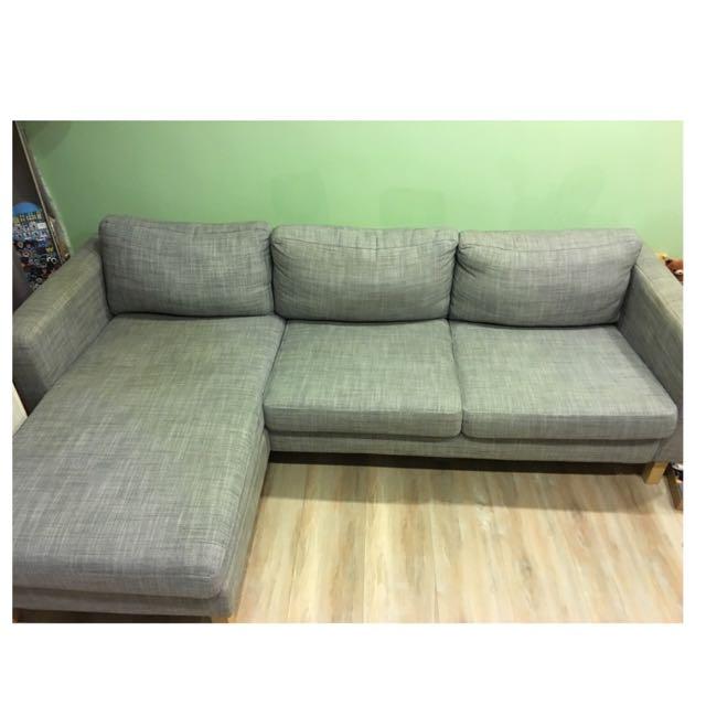Ikea三人L型沙發(限自取)