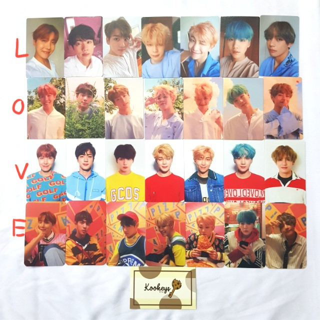 in stock bts love yourself photocards 1511635075 5d9a6ac8