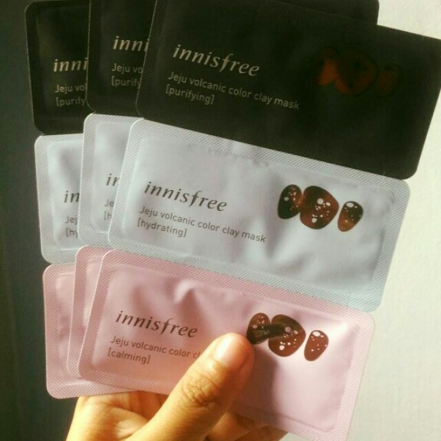 Innisfree Jeju Color Clay mask