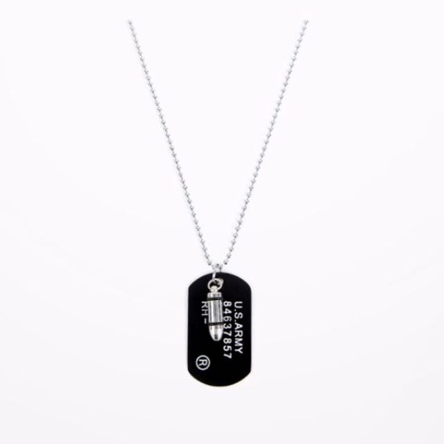 tag product store dog army hip pendants steel dance mens stainless golden plated men necklace rapper pendant cube hop gold hiphop jewelry cool soldier