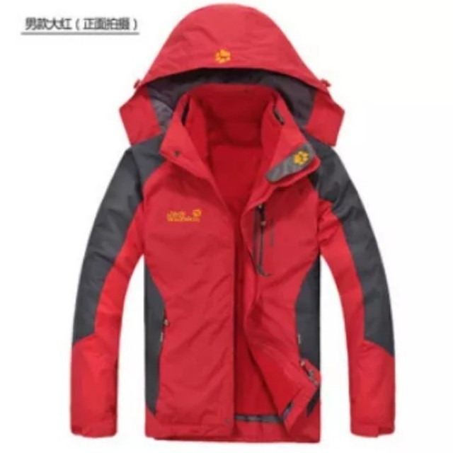 the best attitude ac54f 3595e Jack Wolfskin 3 IN 1 (Men) Winter Jacket, Men's Fashion ...