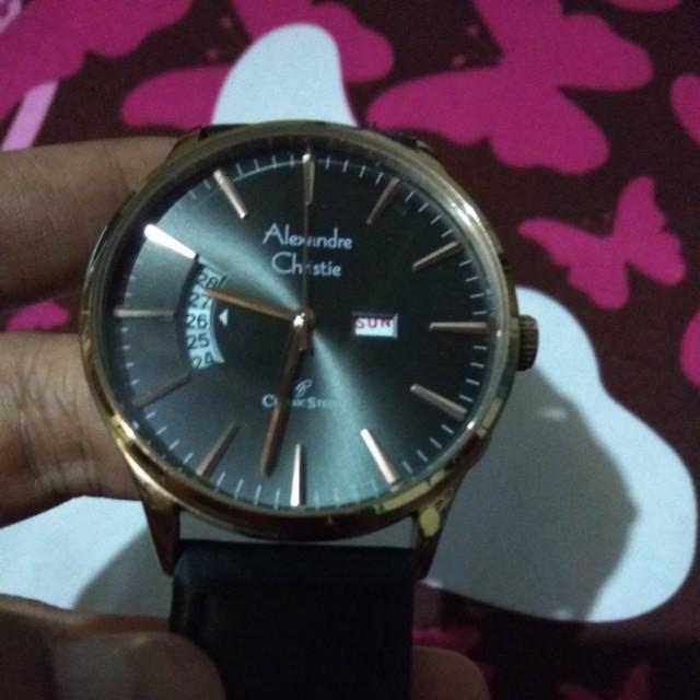 Jam tangan ALEXANDRE CHRISTIE original 9e94cbbdc5