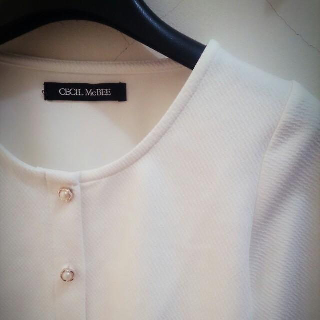 JP日牌全新Cecil Mcbee氣質花鈕扣小外套