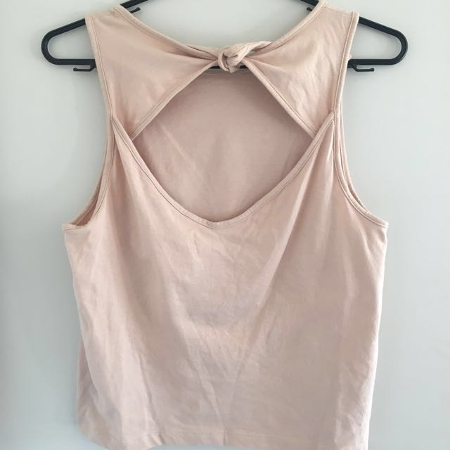 Kookai Open Back Top