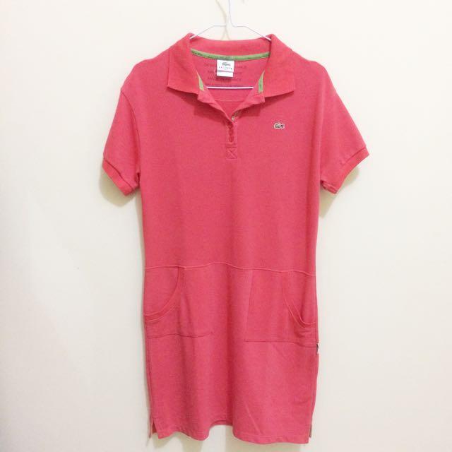 LACOSTE Polo Shirt Dress