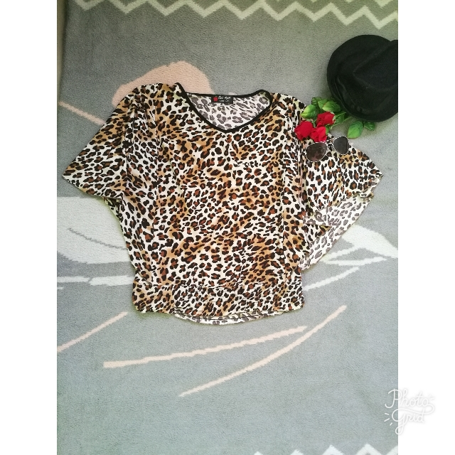 Leopard Top (Small-medium)