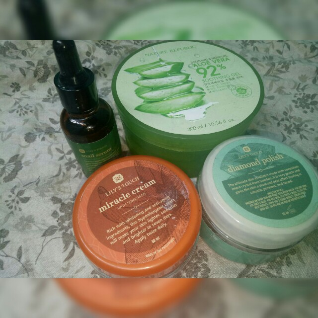 Lily's Touch Bundle with free Nature Republic Aloe Vera Gel