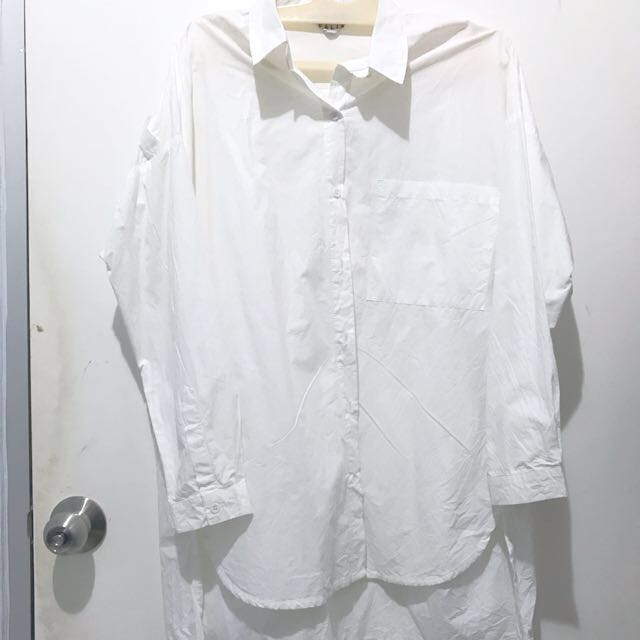 Loose Shirt White (Brand: Felix)