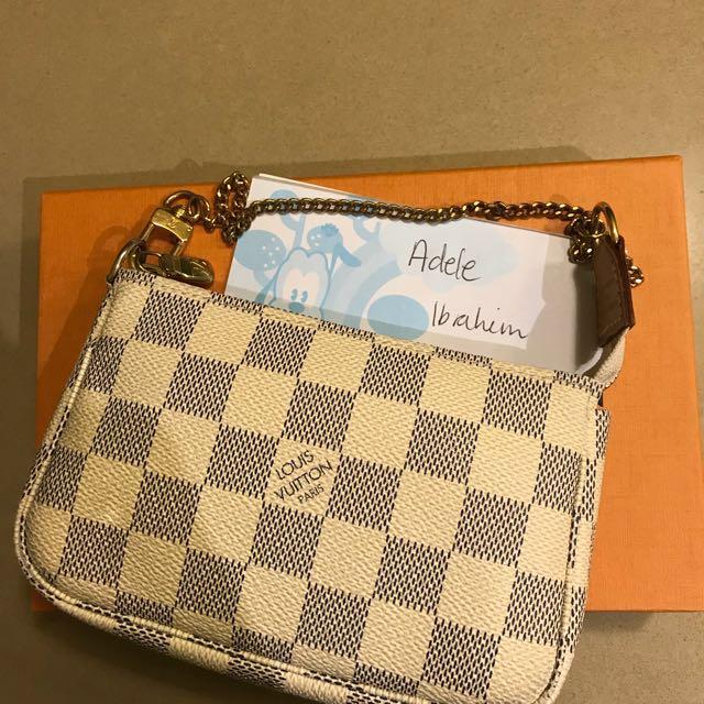 Louis Vuitton Mini pochette DA