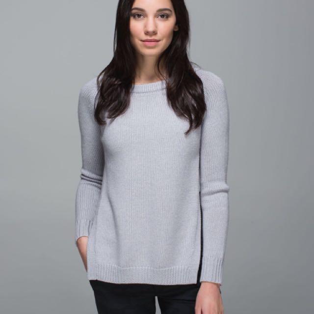 Lululemon Yin to You Knit Sweater