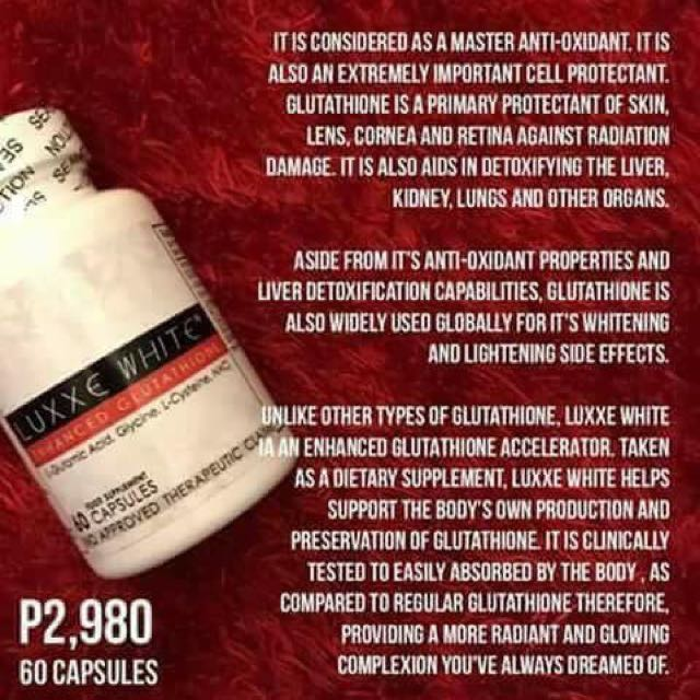 Luxxe White Enhanced Glutathione