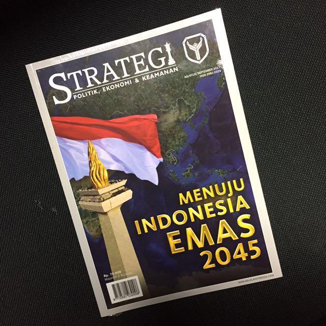 Majalah strategi yudhoyono institute / sby / ahy