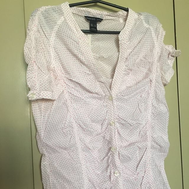 Mango basics blouse ALL ITEMS MARKED * FOR 30 PESOS. 5 OR MORE 25 PESOS