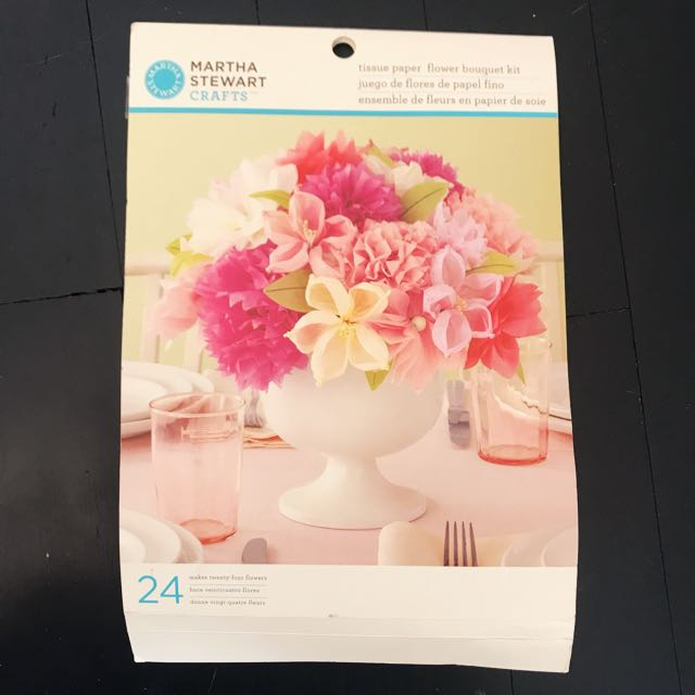 Martha stewart crafts vintage girl tissue paper flowers design martha stewart crafts vintage girl tissue paper flowers design craft others on carousell mightylinksfo