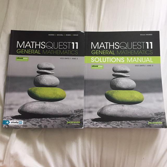 MathsQuest Further Maths Units 1&2