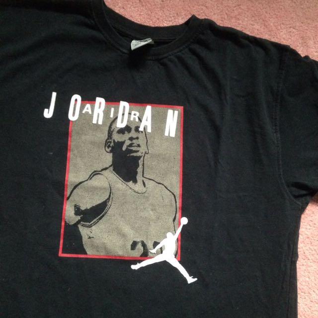 Michael Jordan Black T shirt