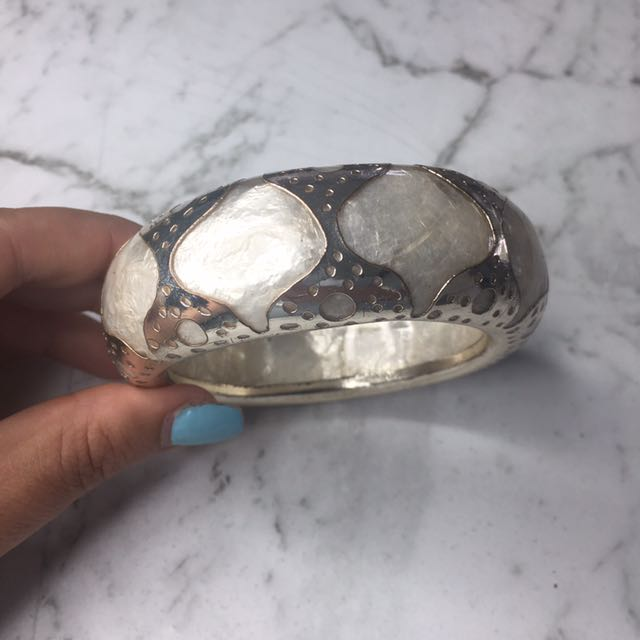 Mimco mother of pearl bangle