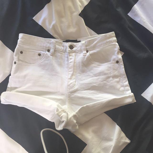 Minkpink White Denim