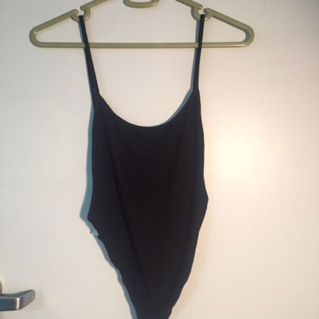 Misguided backless bodysuit
