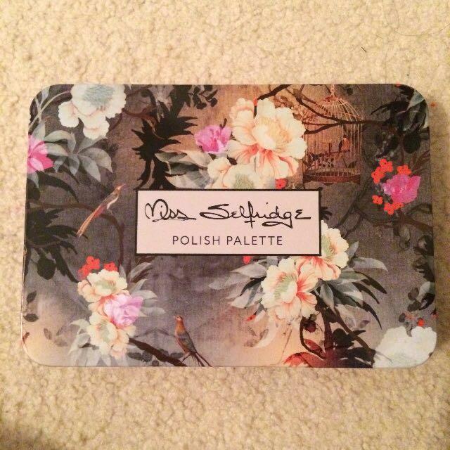 Miss Selfridge Nail Polish Palette