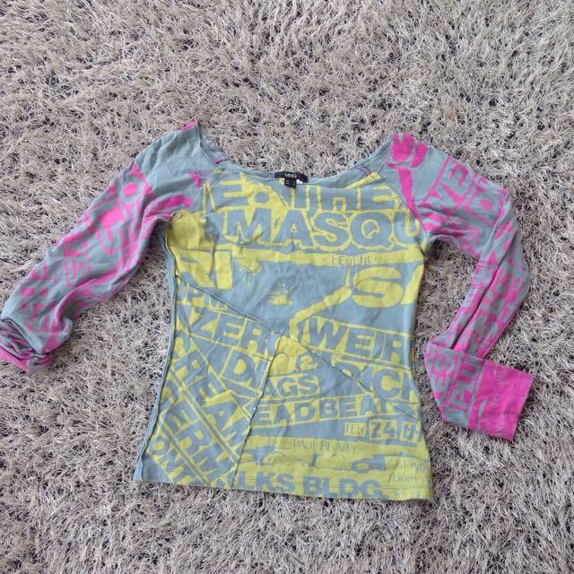 MNG Stylish Long Sleeve top