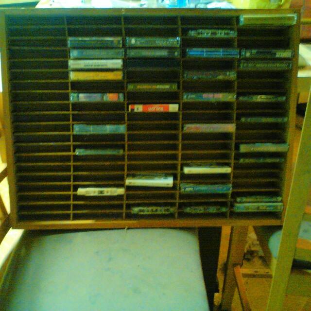 Napa Valley Cassette holder
