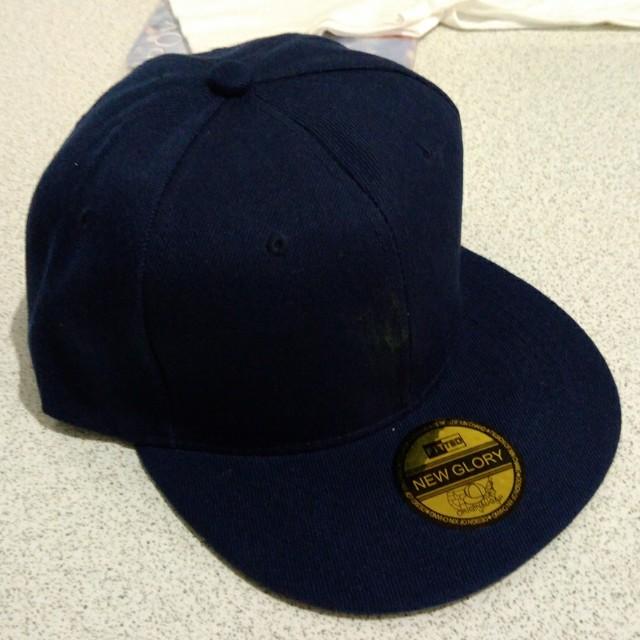 NEW GLORY 帽子 藏青