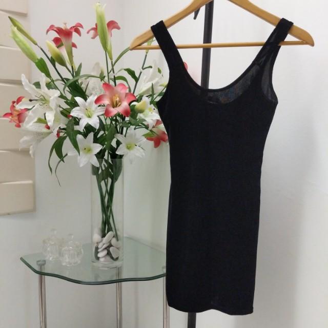 New look velvet dress