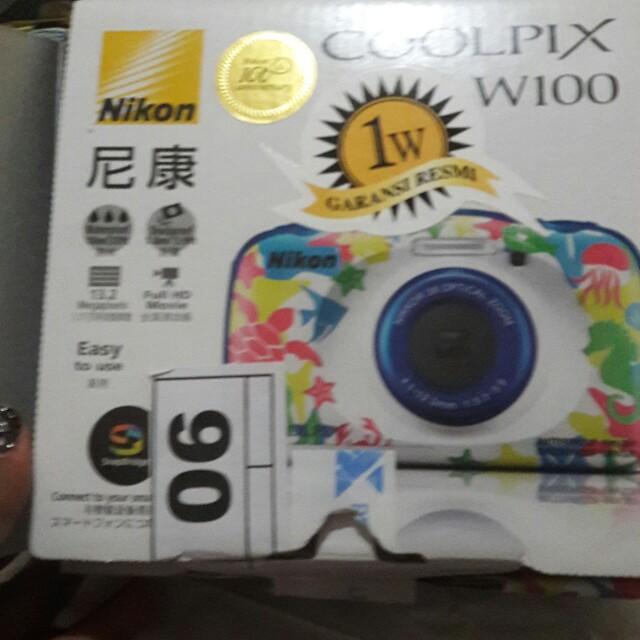 nikon camera cool pix w100