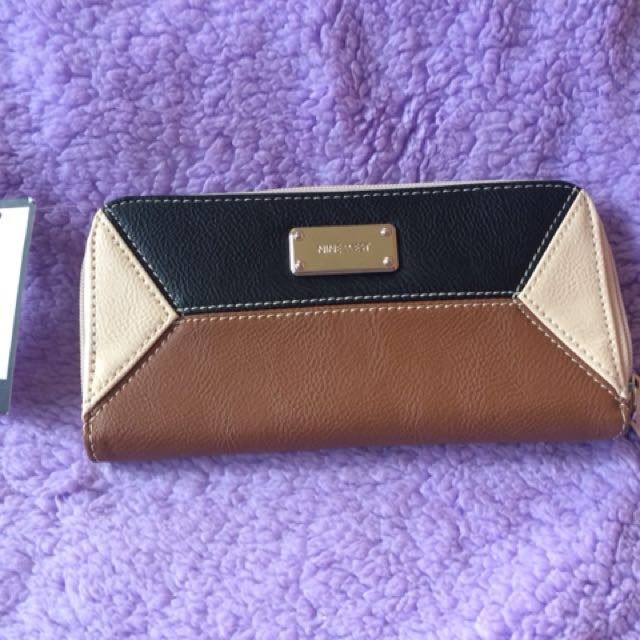 Nine West Zip Around Wallet