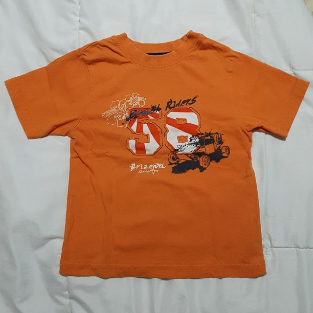 Orange Shirt - 3yo