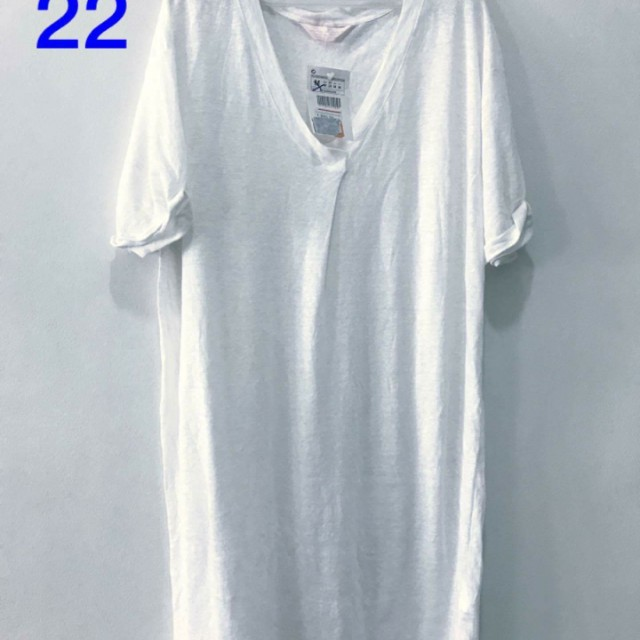 Oversized White Shirt Dress