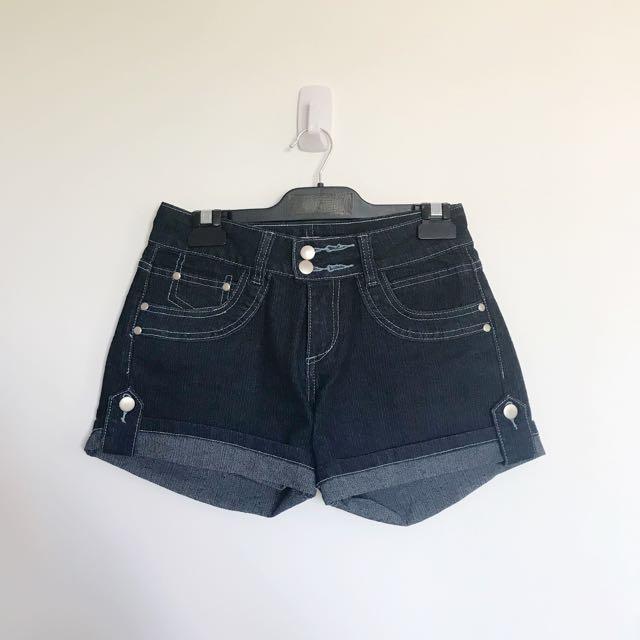 Pagani Indigo demin shorts size 10